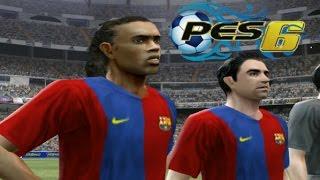 [Rétro] Classico PES 6 | FC Barcelona vs Real Madrid | PS2