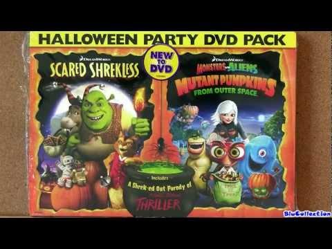 Halloween Shrek Scared Shrekless Mutant Pumpkins from Outer Space dvd