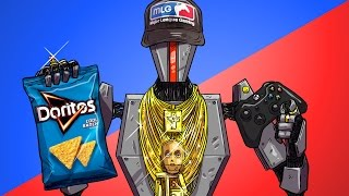 MLG ROBOT GAMER - Soul Hunt Funny Multiplayer Gameplay Moments