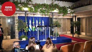 Bolsonaro e Netanyahu fazem declaração conjunta em Israel