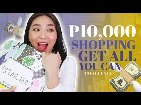P10,000 SHOPPING in 5 MINUTES (ANONG BIBILHIN MO?) | Raiza Contawi