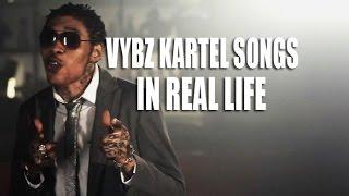 Vybz Kartel Songs In Real Life @JnelComedy