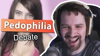 Pedophilia Debate with Brittany Venti - Ft. Mitch Jones, Greekgodx, Asmongold and More