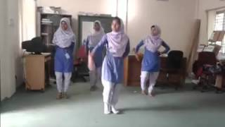Bangla dance.  Mollakandi Lalmia Pilot High school & College
