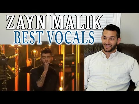 SINGING TEACHER reaction to ZAYN MALIK'S BEST LIVE VOCALS