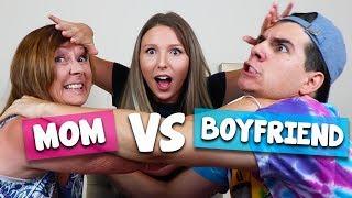 MOM VS. BOYFRIEND CHALLENGE!