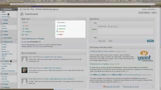 WordPress For Beginners Tutorial - Dashboard Tour