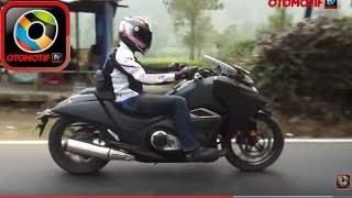 Honda NM4 Vultus, Test Ride in Indonesia, Bergaya ala pasukan Star Wars