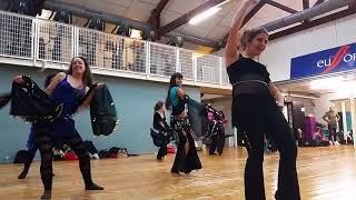 Yaël Zarca - Workshop melaya in Toulouse (oriental dance)