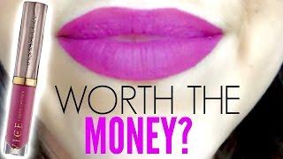 Urban Decay Vice Liquid Lipsticks || Worth The Money?