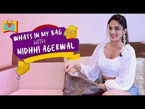 Xxx Mp4 What 39 S In My Bag Ft Nidhhi Agerwal POP Diaries Fashion 3gp Sex