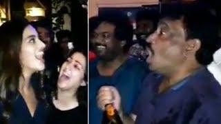 Director Rgv's Madness At Ismart Shankar Success Party   Manastars