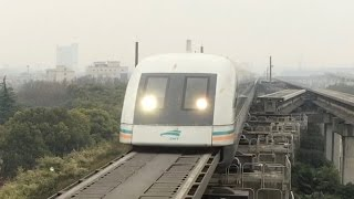 China: Shanghai - maglev 431km/h fastest commercial train
