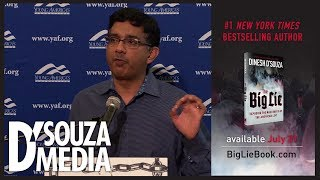 D'Souza reveals where the Left's hatred for free speech comes from