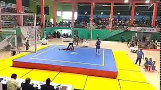 Wushu knock out at 26th National championship at Shillong 2017