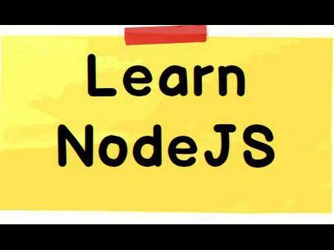 Node js tutorial for beginners