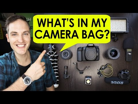 What s in My Camera Bag for CES2017