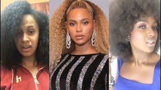 Cardi B, Beyonce, Amara La Negra, etc. (Natural Hair Celebrities)