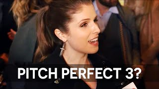Anna Kendrick talks about 'Mr. Right' & 'Pitch Perfect 3'