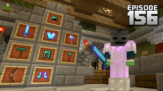 Let's Play Minecraft PE - Ep.156 : Preparing for Wither Fight!