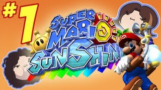 Super Mario Sunshine: Let's Go Swimming - PART 1 - Game Grumps