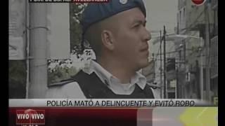 Canal 26 -Avellaneda: Sub-comisario mata a delincuente en un intento de robo