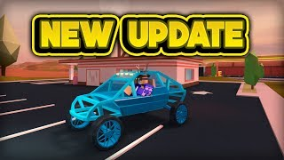 NEW DUNE BUGGY & TIRE POPPING! (ROBLOX Jailbreak)
