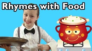 Hot Cross Buns and More Rhymes With Food | Nursery Rhymes from Mother Goose Club!