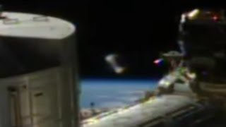Alien Cylinder UFO Spotted On NASA Feed From ISS
