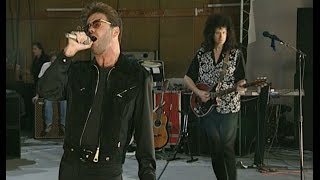 Queen & George Michael - Somebody to Love. Rehearsal, 20.04.1992