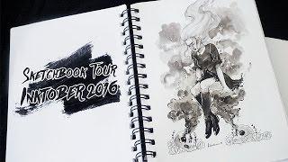 SKETCHBOOK TOUR // Inktober 2016
