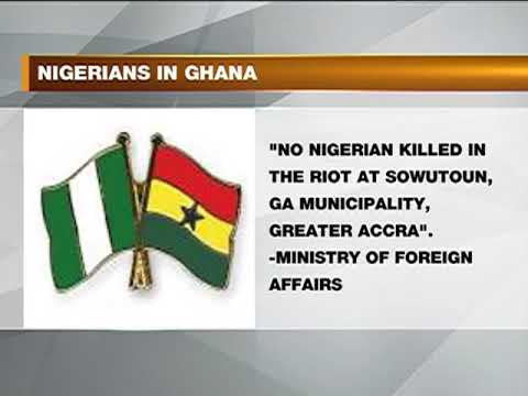 Nigeria High Commissioner On Recent Dispute In Ghana