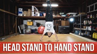 How To Breakdance | Head Stand To Hand Stand