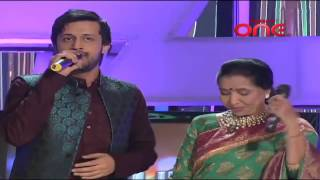 Atif Aslam Asha Bhosle, Abida Parween, Runa Laila Live Lal Meri Pat