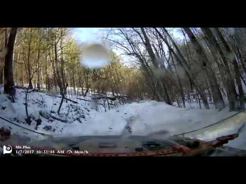 watch Jeep USA off-road in muddy snow