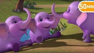 Ek Mota Hathi - एक मोटा हाथी - Hindi Rhymes | Children Nursery Rhymes from Jugnu kids