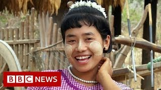 The village where hairstyles are a dating code - BBC News