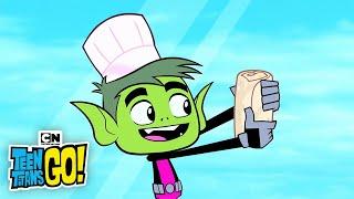 Teen Titans GO! | The Burger vs. Burrito Song | Cartoon Network