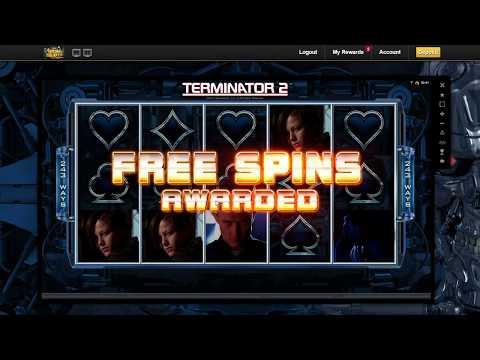 Terminator hot mode big win - 6€ bets