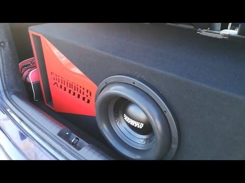 Sundown Audio X 12 v.2 - Subwoofer Excursion