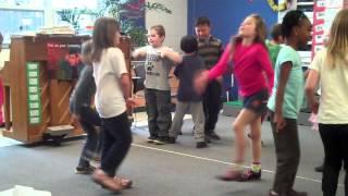 1st & 2nd Grade 4 Corners Game