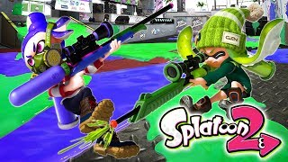 SPLATOON 2: ¡DSIMPHONY vs SLIVER! | EL RETO DEL SNIPER | Nintendo Switch