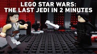 LEGO Star Wars: The Last Jedi in 2 Minutes
