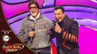 Amitabh Bachchan and Mithunda Masti On Dance India Dance Season 2