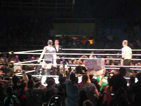 CM Punk vs. Chris Jericho WWE House Show Brazil