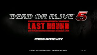 Dead or Alive 5 Last Round 16 Story 46 - 48 Hayabusa