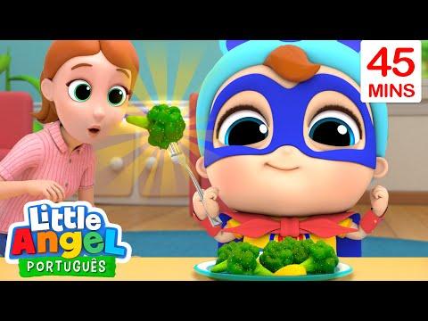 O Super Joãozinho Adora Comer Verduras 🥕 🥦 Canal do Joãozinho Little Angel Português