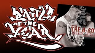 Jay-Roc n' Jakebeatz & Kaotic Concrete - Where I'm From (B-Boy Hustle Album) Battle Of The Year