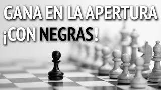 ¡Cómo ganar en la apertura con las negras: 3 celadas de ajedrez!