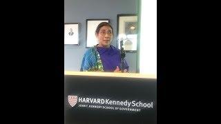 Mengintip Kuliah Umum Susi Pudjiastuti di Harvard